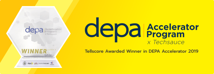 Tellscore Awarded Winner in DEPA Accelerator 2018
