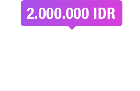 life style package 2.000.000 IDR